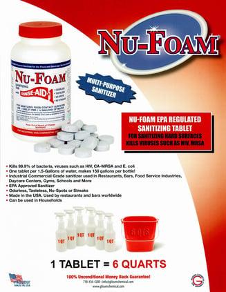Nu-Foam Sanitizing Tablet Multi Purpose (1)