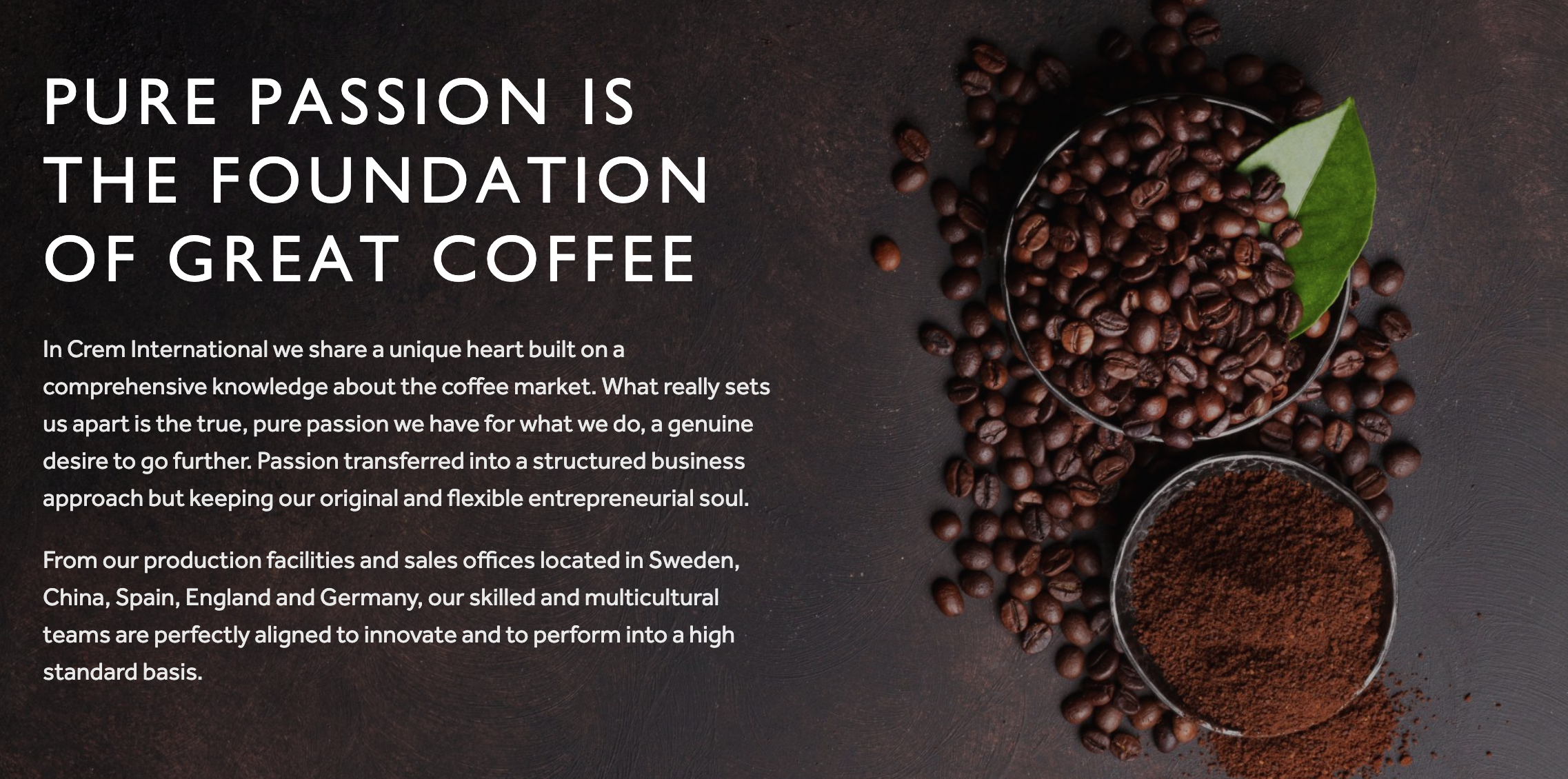 crem coffee makers