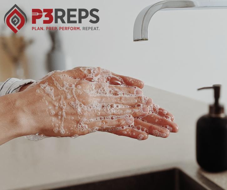 handwashing tips p3 reps hero image